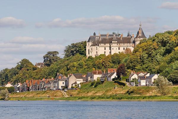 Chateau de Chaumont sur Loire - Vue de la Loire