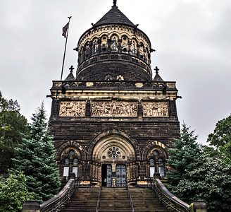 President Garfield Memorial, Lake View Cemetery, Ohio