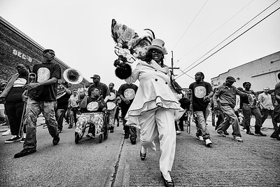 Lady Rollers Second Line - NOLA - 2014