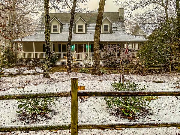 Snow Dusting - 1-8-21
