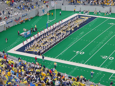 WVU vs Maryland - Halftime Formations
