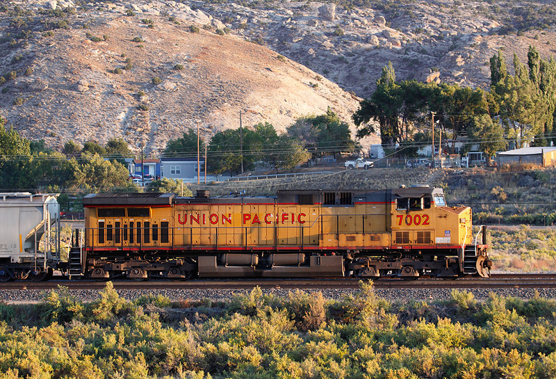Union Pacific 7002 (GE AC44CCTE) - Rock Springs, WY
