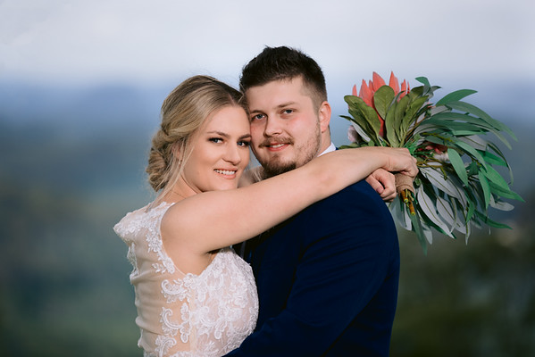 Claire & Cory: Maleny Wedding