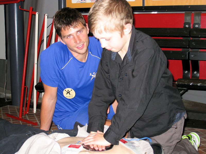Mark, Gitte, Bengt - visiting 2009