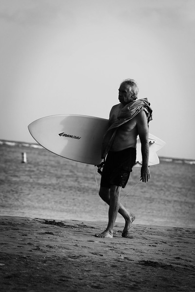 Elder Surfer