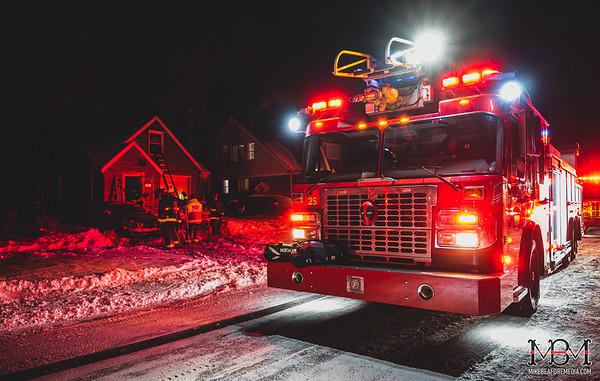 Detroit MI, House Fire 2-17-2021