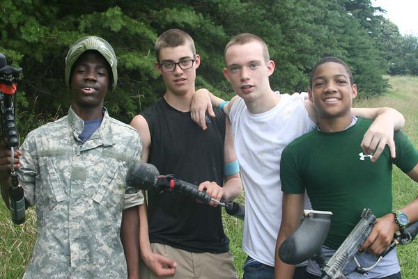 Summer Paintball Warriors