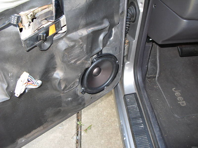 Grand Cherokee Speaker Installations