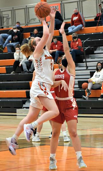 Shullsburg @ Dodgeville Girls Basketball  2-1-21
