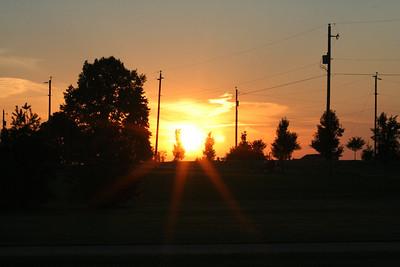 Sunset 20050731