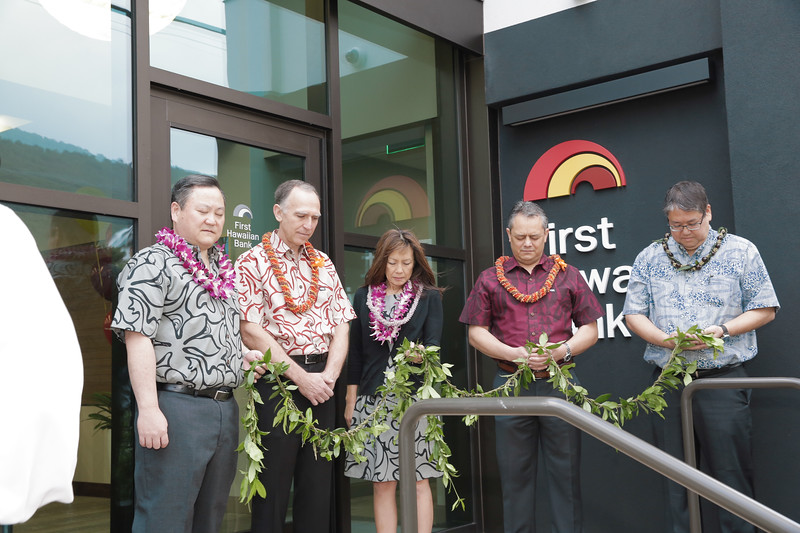 First Hawaiian Bank - Manoa Grand Opening