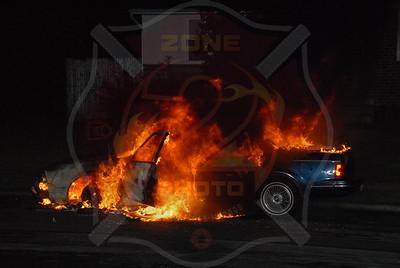 Hicksville F.D. Car Fire I/F/O 4 Fox Pl. 5/15/11