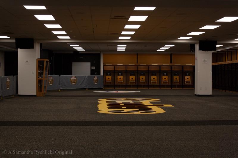 Steelers' Locker Room