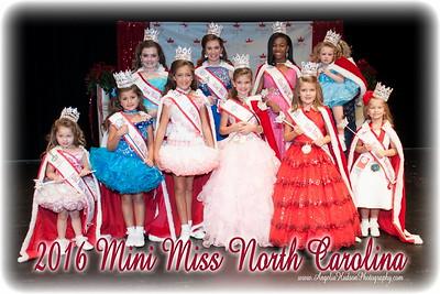 2016 Mini Miss NC
