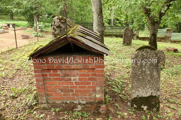 ESTONIA, Rakvere. Jewish Cemetery (Turma). (8.2011)