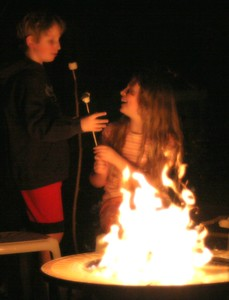 Campfire, March 2005