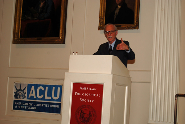 ACLU Bill of Rights Dinner honoring David Rudovsky