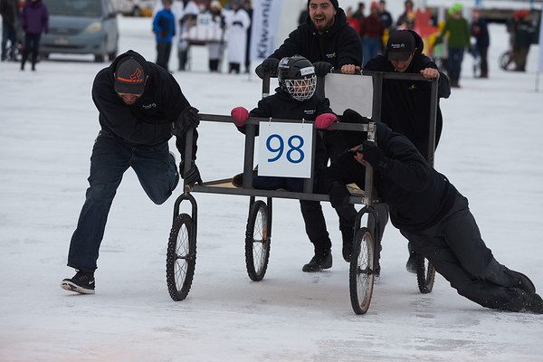 2018 Accora Village Bed Race for Kiwanis