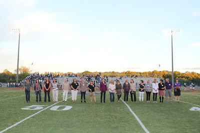 ALUMNI Homecoming Football game 2014