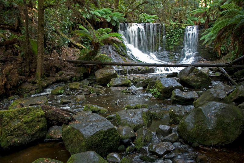 Horseshoe Falls, Mount Field National Park - Tasmania, Australia
