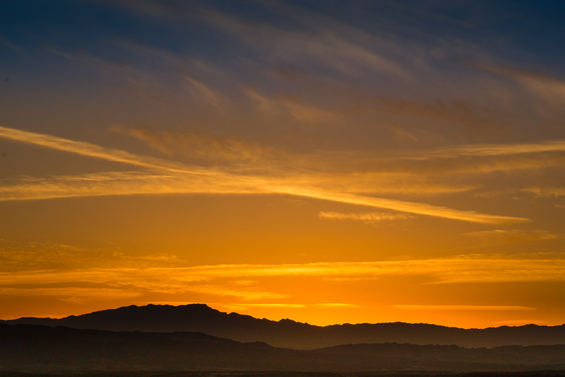 Lake Mead Sunset