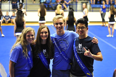 Homecoming Parade + Pep Rally 10/5/2016