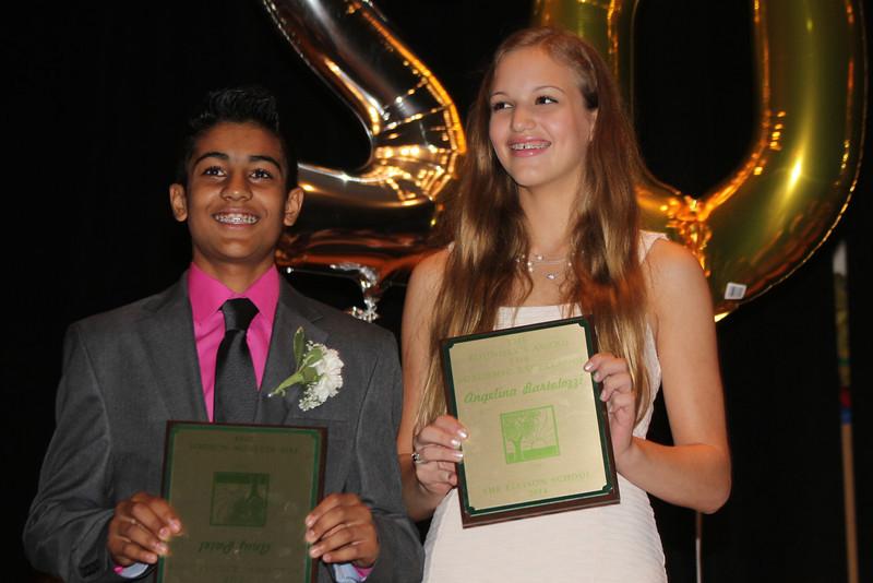 Anuj Patel & Angelina Bartolozzi - Academic Excellence Awards