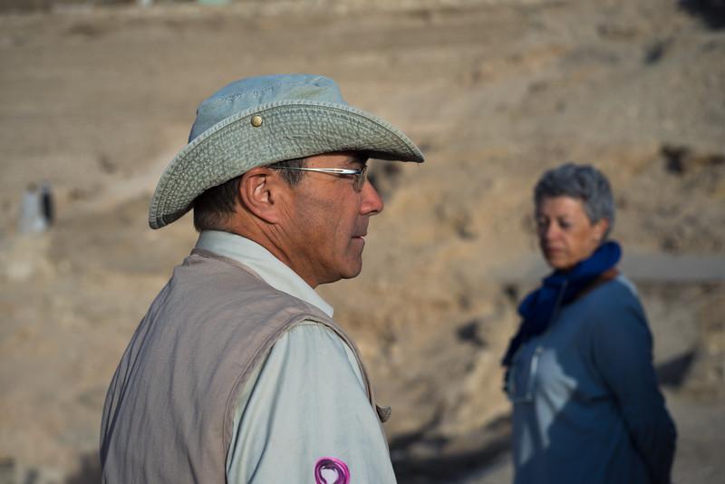 José Manuel Galán, Director de la excavación Djehuty. http://www.excavacionegipto.com