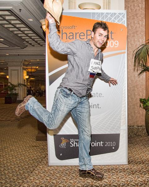 SharePoint Conference 2009 Speaker jump