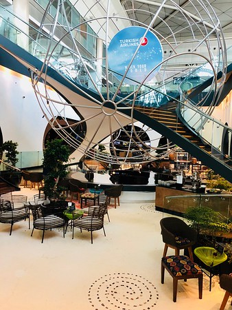Reporte: Turkish Airlines Business-Class Lounge en Estanbul, Turquia  (Sept 2018)