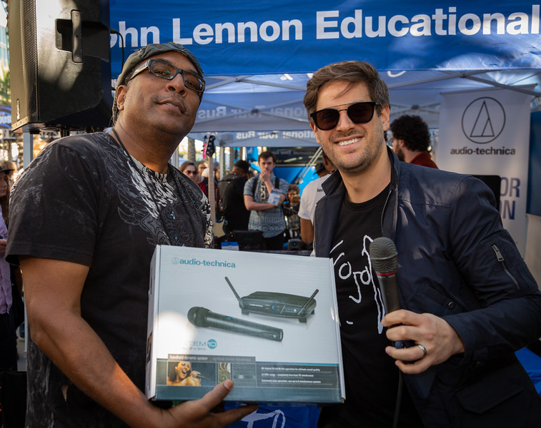 2019, Anaheim, Audio-Technica, CA, Matthew Reich, NAMM, Tents
