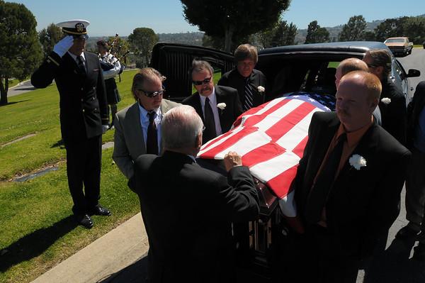 David McBride Funeral March 2011