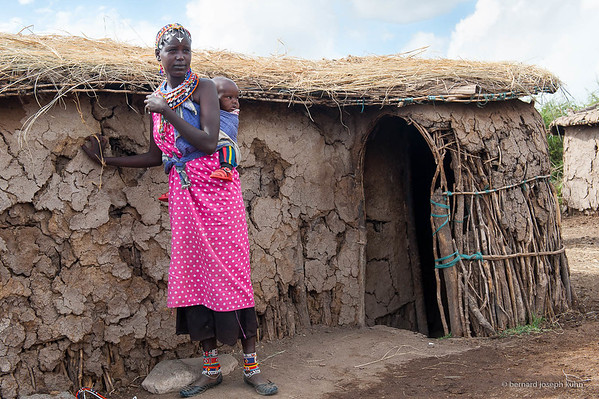 Village maasaï • Maasai village