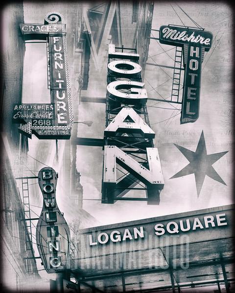 Logan Square - Collage