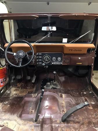 1981 CJ7 Restoration - 2018.06.03