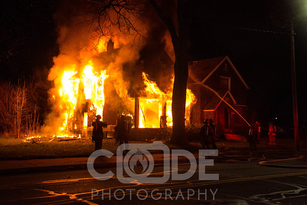 Vacant House Fire (4/16/16)
