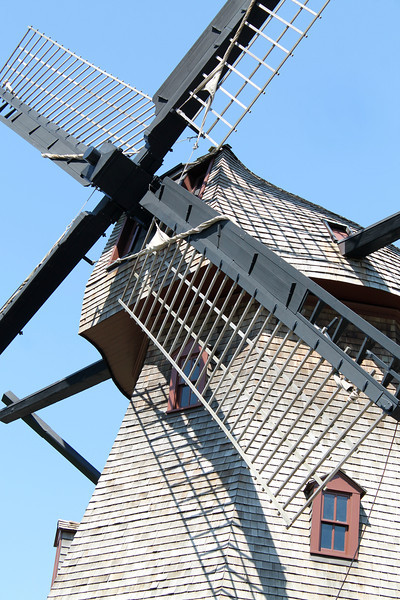 """""""The Windmill Close Up"""" - Daily Photo - 07/17/13  Off to New York at 4:00 am for a day business trip, fun turn around back to Chicago.  Home by 10:00 pm hopefully!"""