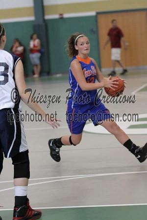 12N Court Elite Blue VS Team Elite Orange McClure