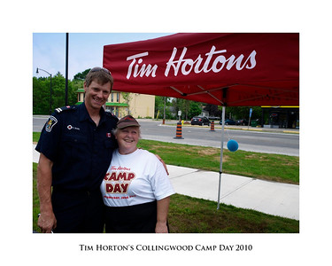 Collingwood Tim Horton's Camp Day 2010