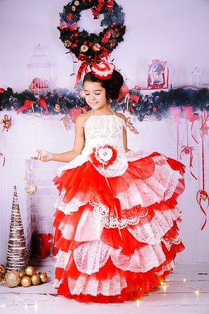 Princess and Frog - Christmas Promo - Dani Geddes