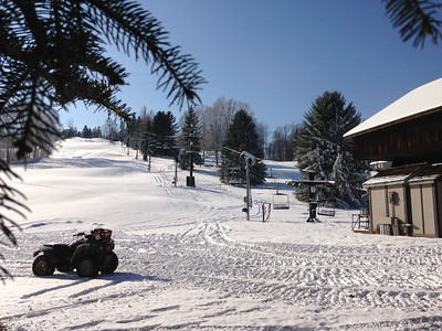 Prepping Slopes for Opening Day 11-30-13