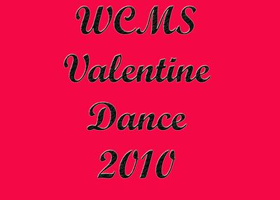 WCMS Valentine Dance 2010