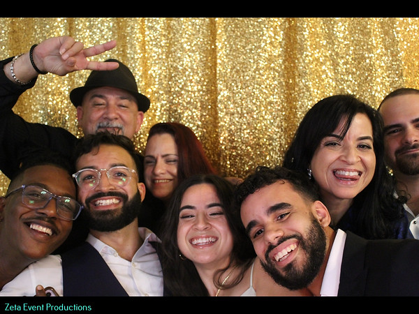 Katherine & Gonzalo Wedding Photo Booth Pictures