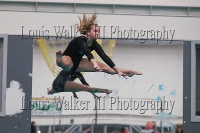 Gymnastics - Portsmouth vs Middletown at YMCA on 1/3/2019