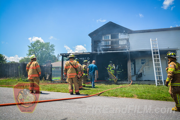 Schuylkill County - Rush Twp. - Dwelling Fire - 07/24/2019