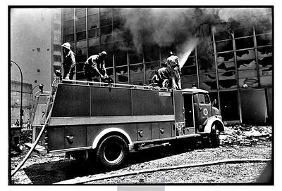 Incêndio no Edifício Barão de Mauá.