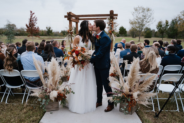 Amanda and Jacob's wedding at Eight Ten Ranch in Muskogee Oklahoma