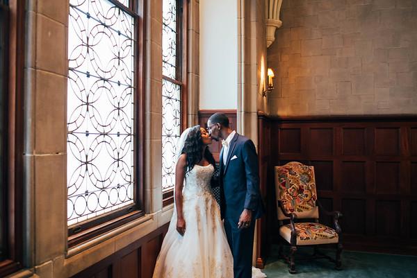 Sadai and Trent Wedding day