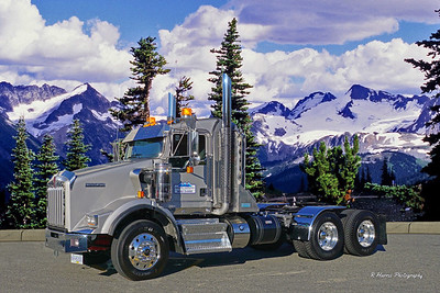 Kenworth Photo Shoot/Coastal Mountain Excavation