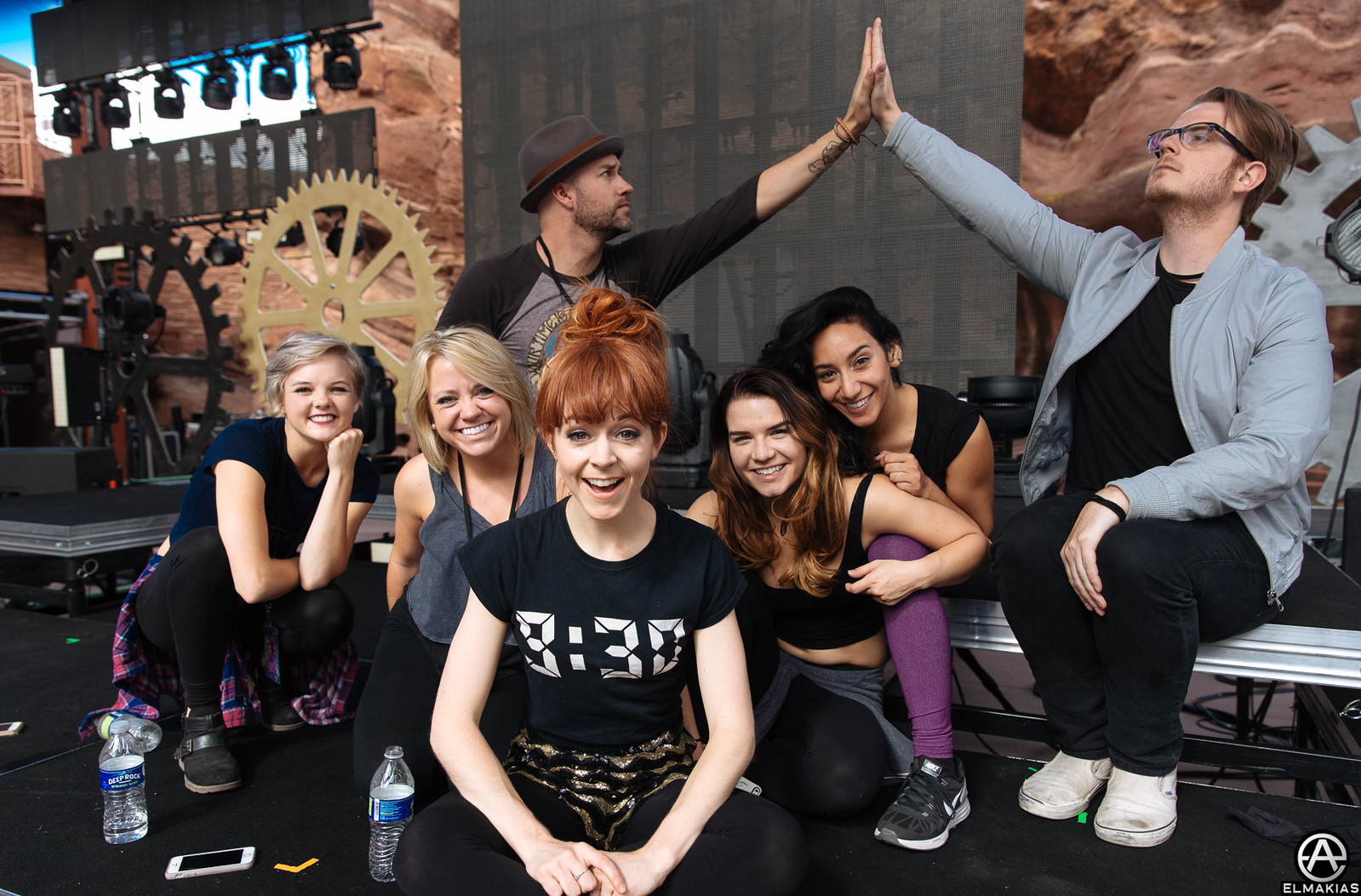 Lindsey Stirling band and dancers! The full team